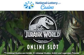 Play Jurassic World now at National-Lottery.com Casino